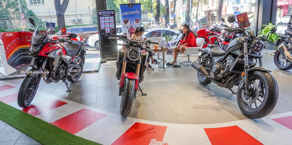 Honda CB650R Rebel 500 CB500X phiên bản mới 2021 có gì khác biệt?