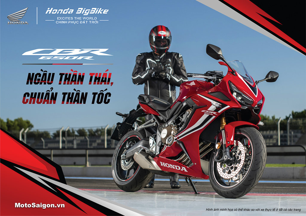 Giá xe Honda CBR650R 2021 phiên bản mới