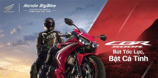 Giá xe Honda CBR500R 2021 phiên bản mới