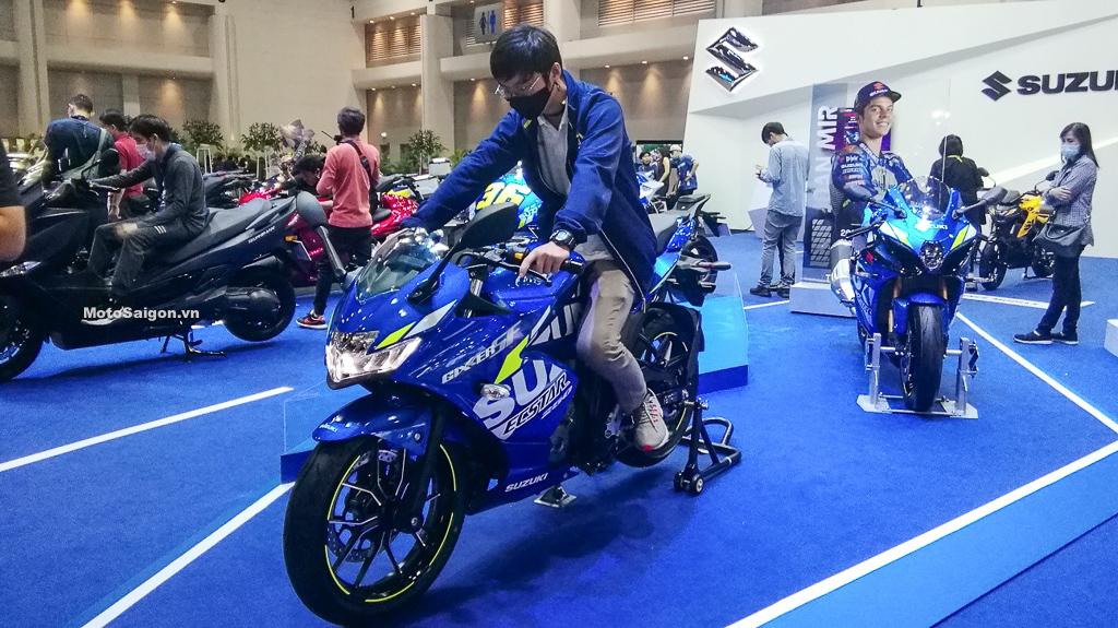 Suzuki Gixxer 250 SF 2021 đã có giá bán gồm 2 phiên bản màu