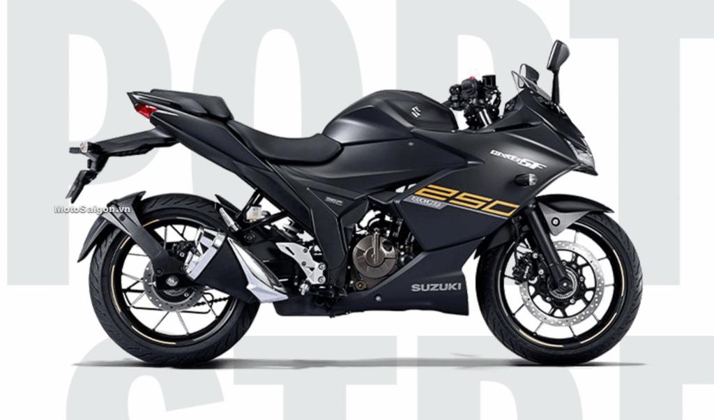 Suzuki Gixxer 250 SF 2021 màu đen nhám