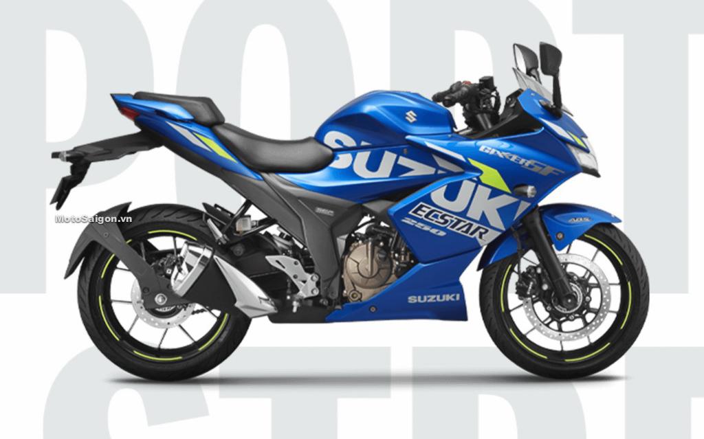 Suzuki Gixxer 250 SF 2021 xanh MotoGP Ecstar