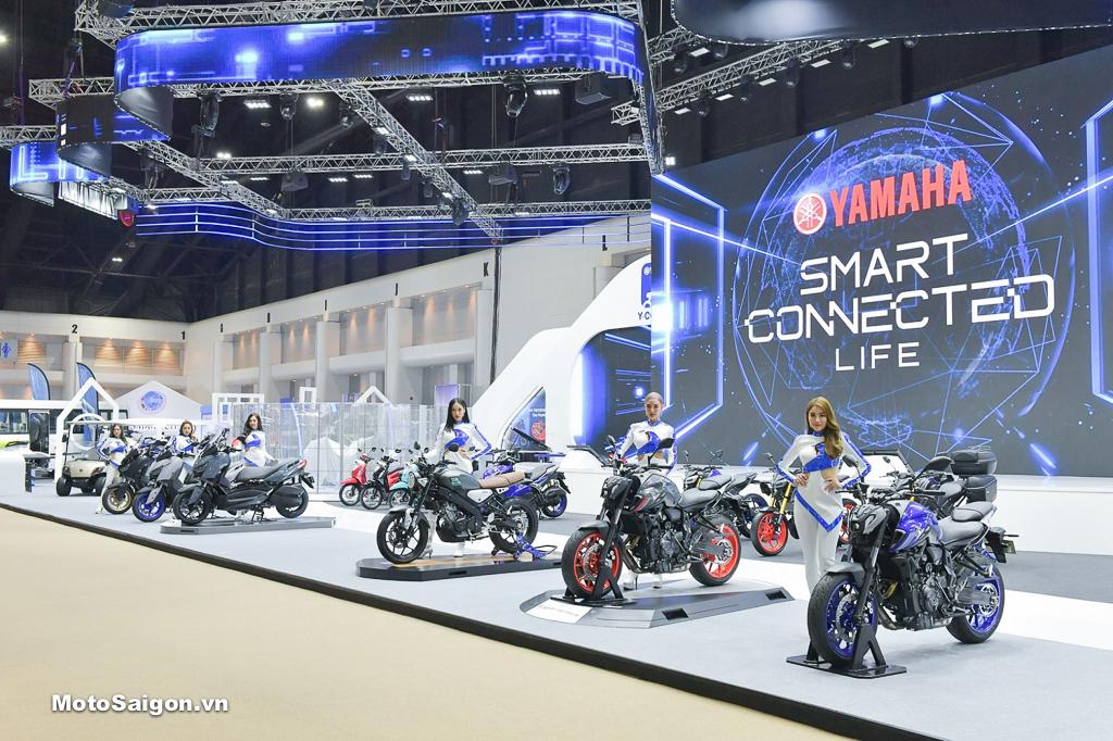 Yamaha MT-15 2021 ra mắt cùng với loạt xe mới gồm: MT-07, MT-09, XSR700, XSR900, XSR155, NMAX, TMAX v.v...