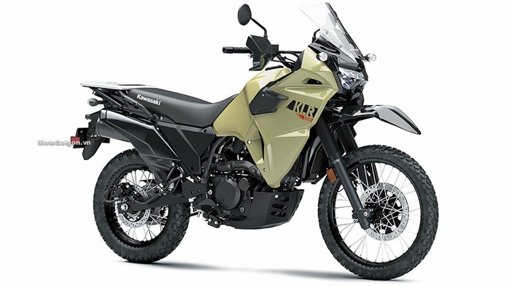 """Kawasaki KLR 650 2021 """"Chiến binh"""" địa hình hoàn toàn mới giá từ 199 triệu đồng"""