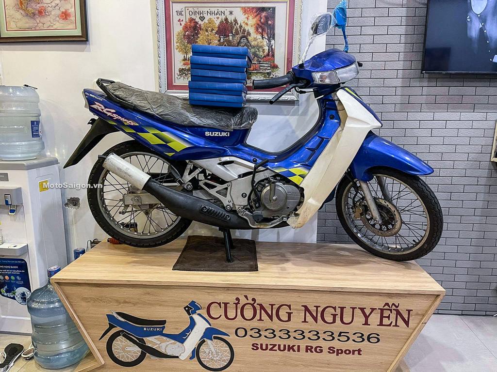 Suzuki RG Sport đời 2002 chưa đổ xăng đấu bình gây sốc với giá gần 800 triệu đồng