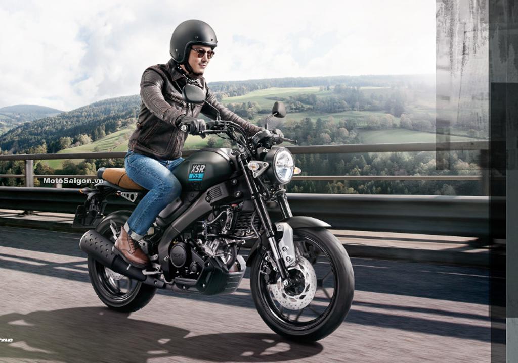 XSR 155 2021 Sport Heritage ra mắt mẫu mới giá bán không đổi