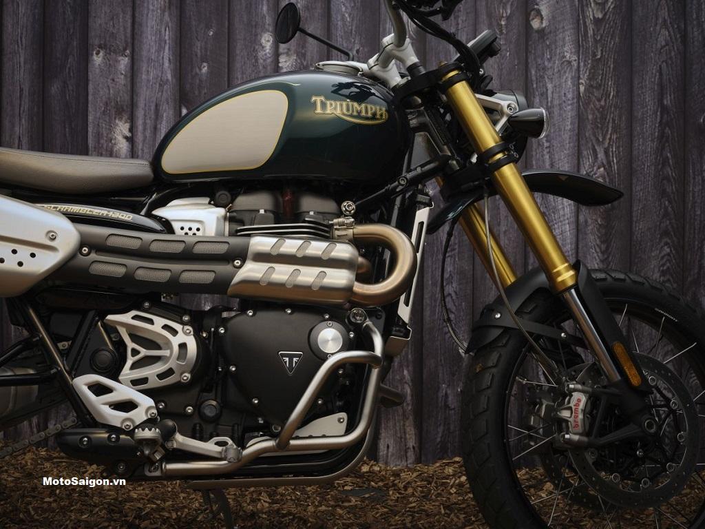 Chiêm ngưỡng Triumph Scrambler X Steve McQueen với số lượng giới hạn 1000 chiếc