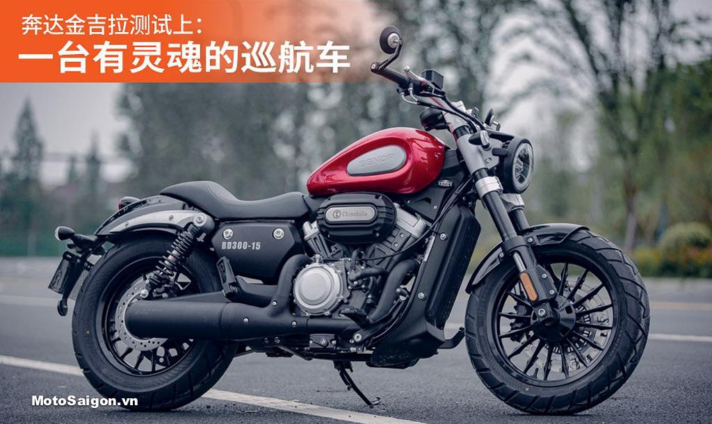 Benda BD300 gây sốc với động cơ V-Twin giá siêu rẻ