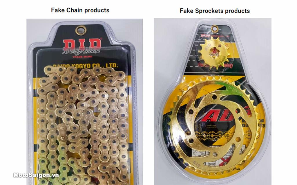 Các sản phẩm DID giả nhái trên thị trường