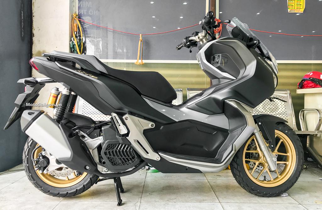 Honda ADV 150 2021 màu đen nhám mâm vàng mới nhất đã có giá bán