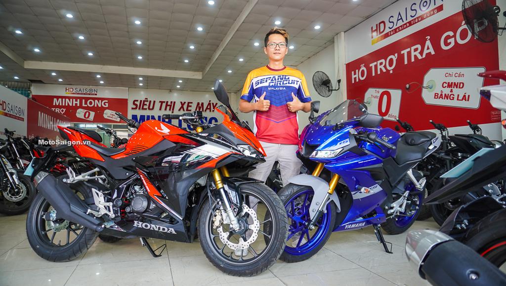 Trên yên Honda CBR150R 2021 ABS hoàn toàn mới tại Việt Nam