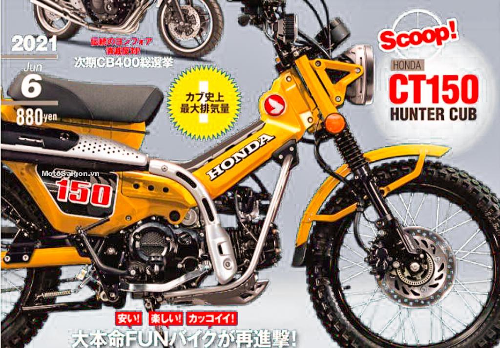 Honda CT150 bản nâng cấp động cơ 150cc từ CT125