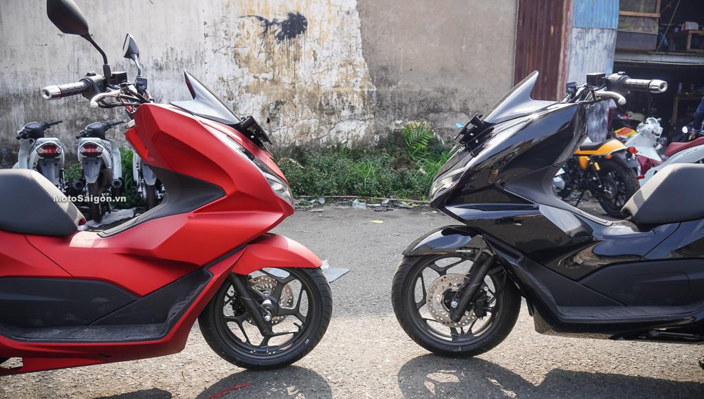 Giá xe PCX 160 có ABS nhập Indonesia 88 triệu đồng.