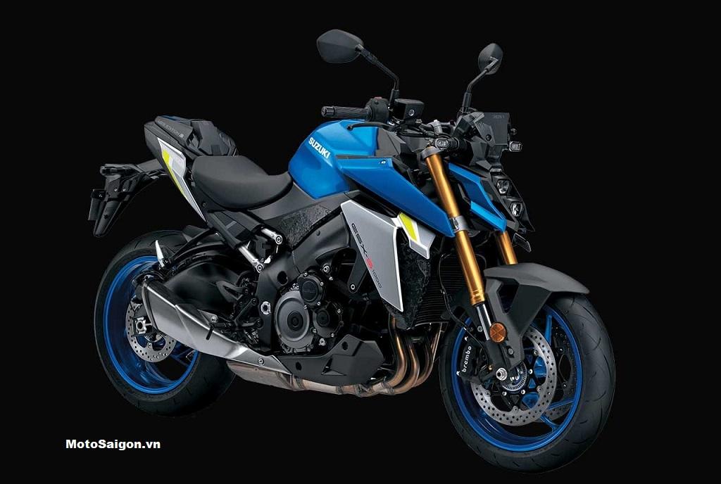 Suzuki GSX-S1000 Web Edition bản đặc biệt ăn mừng chiến thắng MotoGP 2020