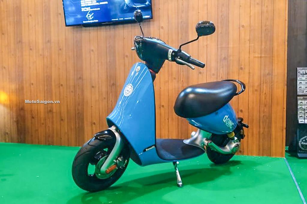 Benelli Dong mẫu xe điện siêu dễ thương có giá bán từ 58 triệu đồng