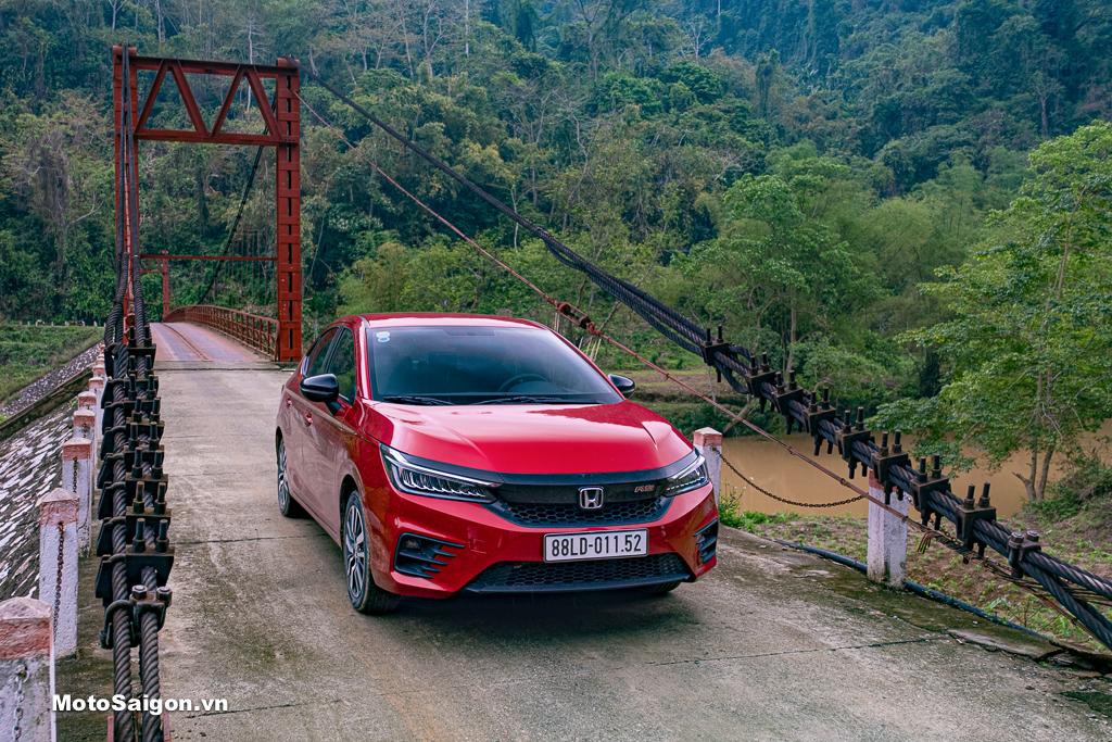 Mẫu xe City của Honda Việt Nam