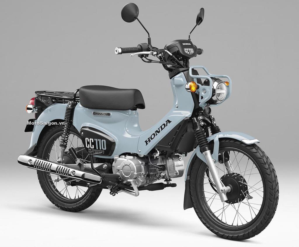 Honda CC110 Cross Cub 110 màu mới chỉ có 2000 chiếc