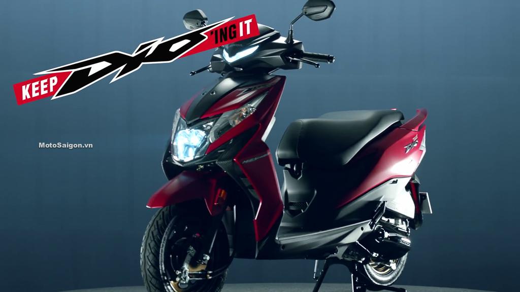 Honda Dio 2021 thế hệ mới có 2 phiên bản giá bán từ 19 triệu đồng