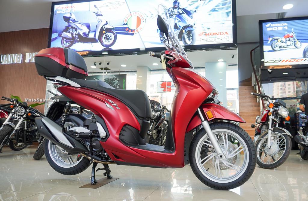 Phụ kiện chính hãng của Honda Sh350i nhập Ý