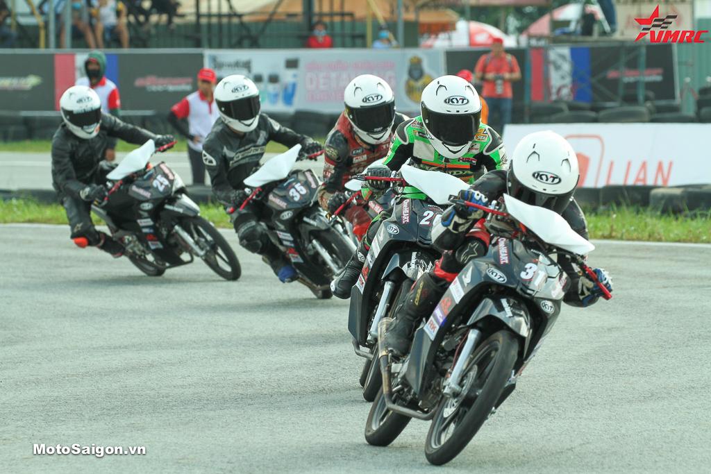 Giải đua xe Mô tô Việt Nam (VMRC) (trong ảnh_ hạng mục Blade 110cc)