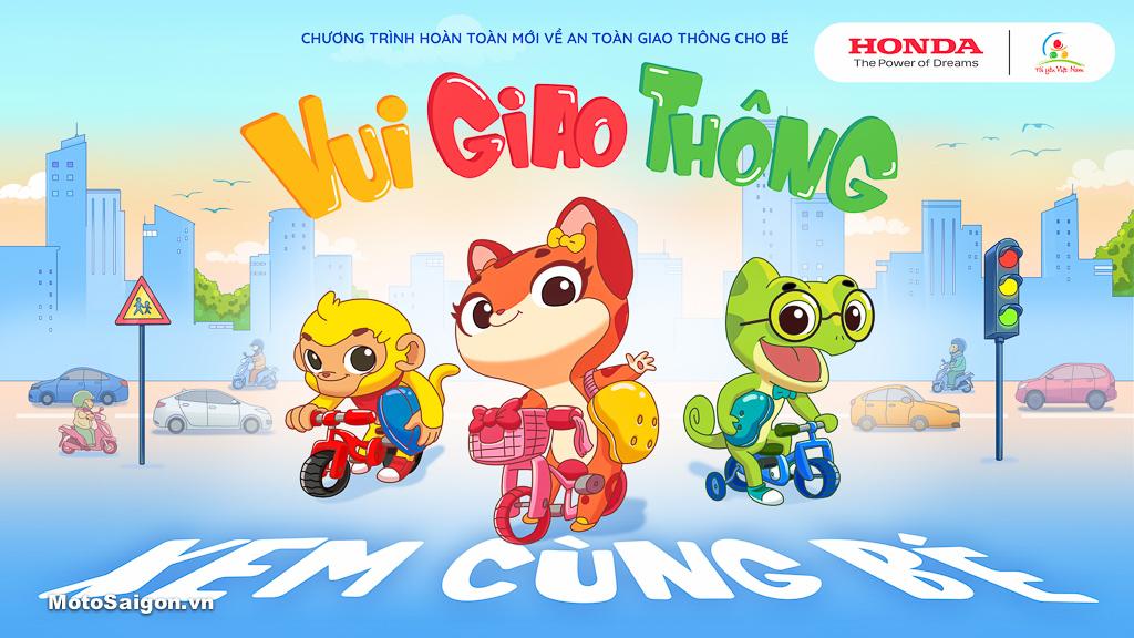 Chương trình Tôi yêu Việt Nam phiên bản Vui giao thông dành cho các em nhỏ Mầm non