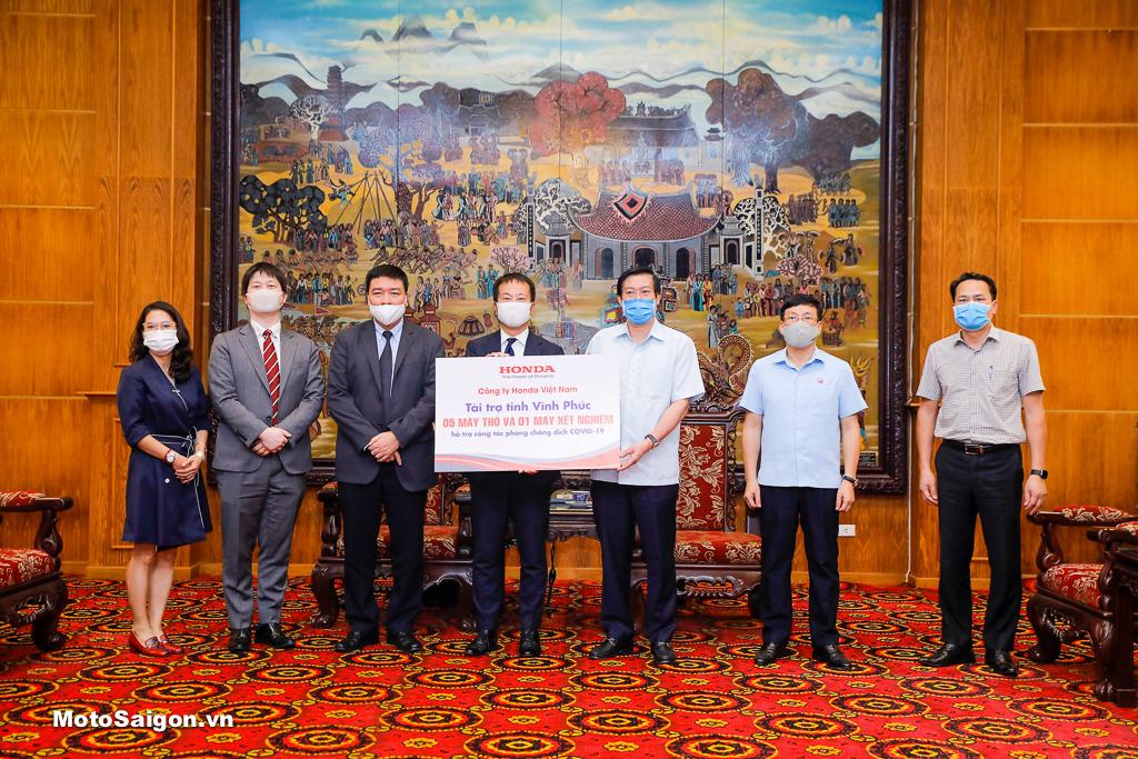 HVN ủng hộ phòng chống dịch COVID-19 tại tỉnh Vĩnh Phúc
