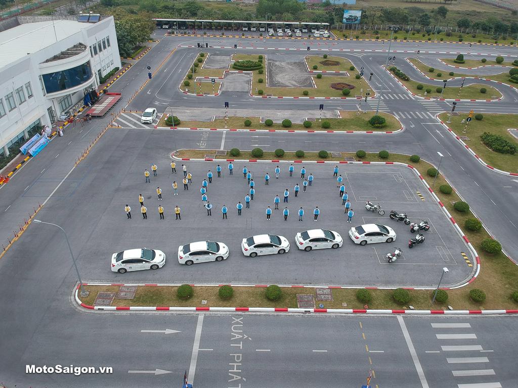 HVN nỗ lực đào tạo cho khách hàng tại Trung tâm Lái xe an toàn