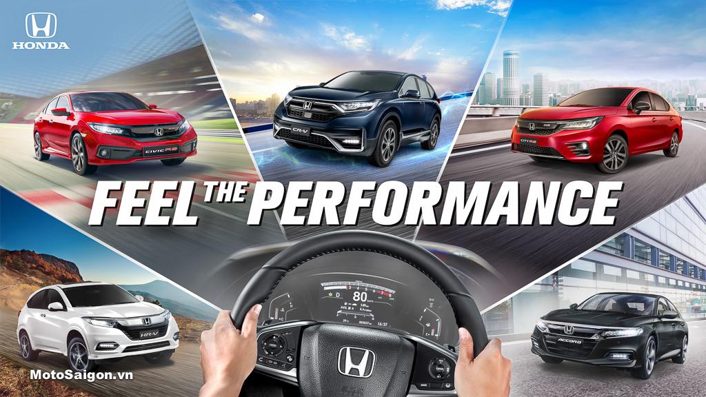 Chiến dịch quảng bá thương hiện Honda ô tô Feel The Performance