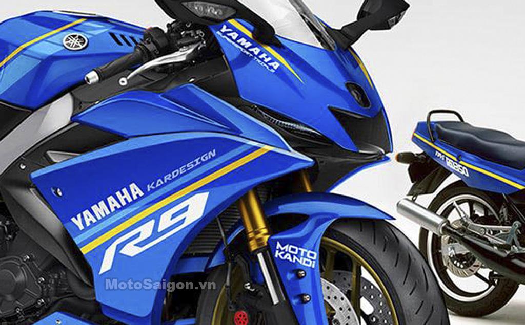 Yamaha R9 phiên bản sportbike dựa trên Tracer 900 GT