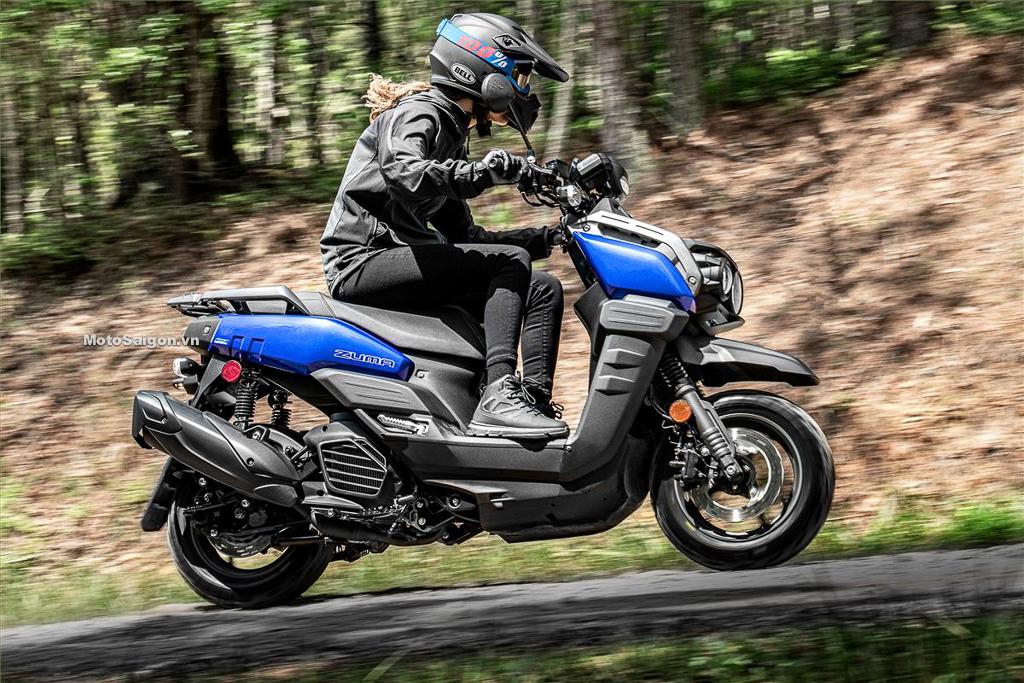 Yamaha Zuma 125 xe tay ga địa hình đời mới 2022 đã có giá bán