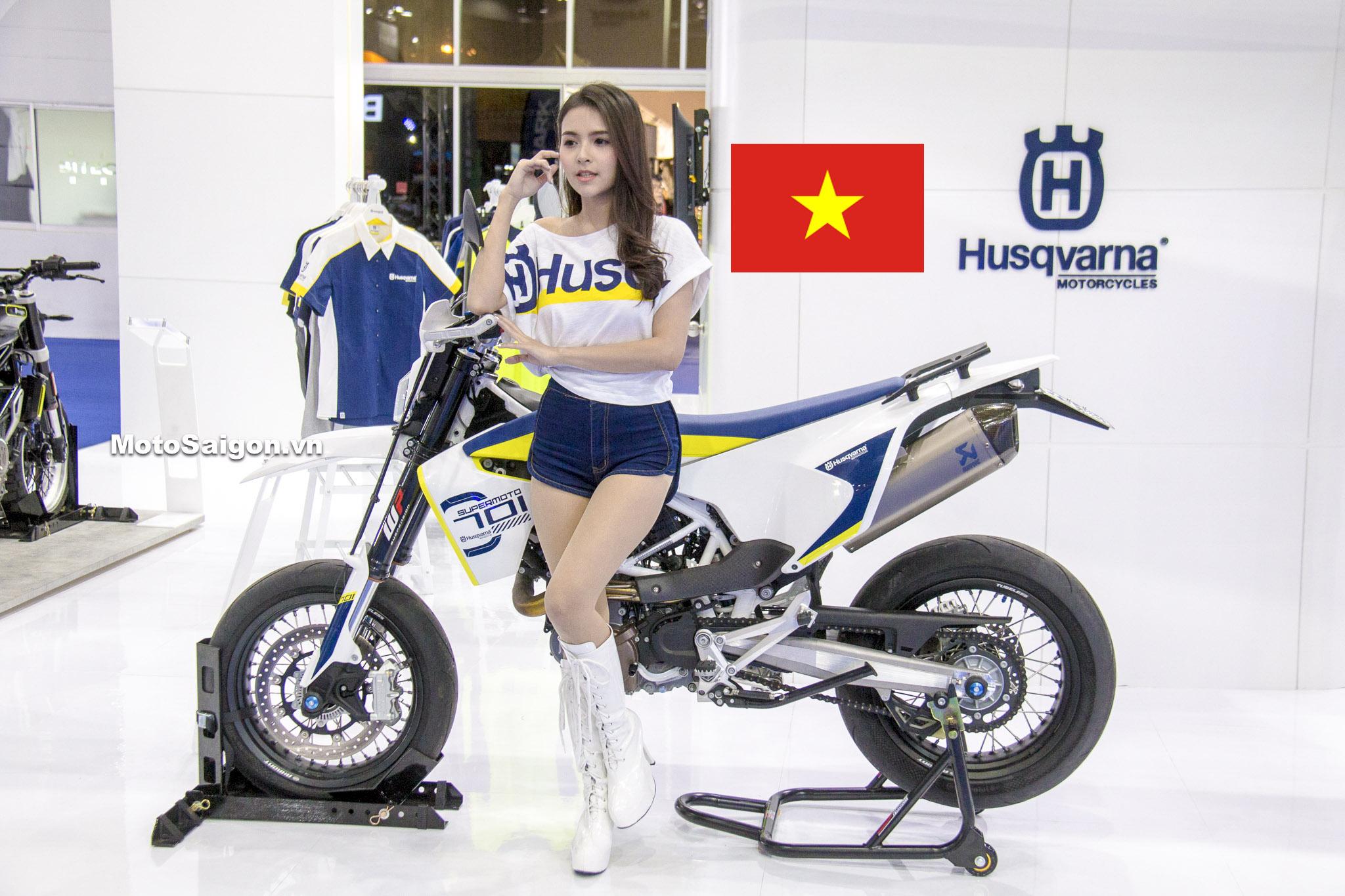 Husqvarna sắp có Showroom chính hãng đầu tiên Việt Nam