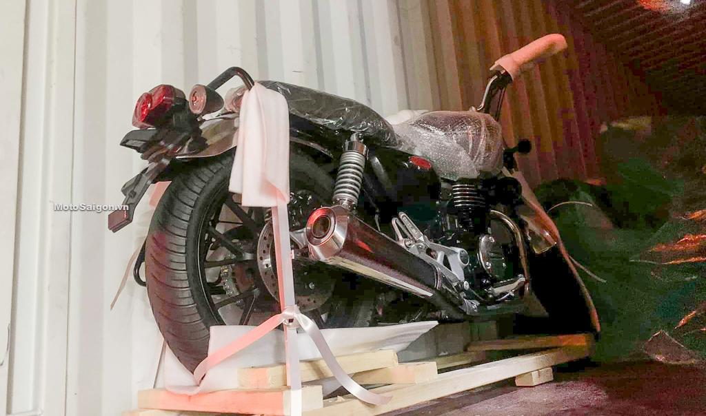 Honda CB350 Hness DLX Pro về Việt Nam số lượng lớn