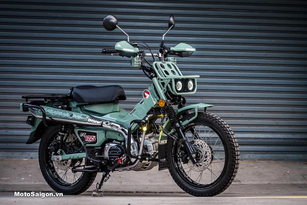Honda CT125 độ đèn đôi độc đáo kèm nhiều đồ chơi đáng tham khảo