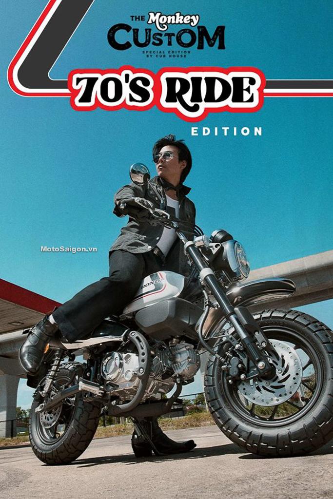 Honda Monkey 70 Ride Edition bản đặc biệt bất ngờ ra mắt