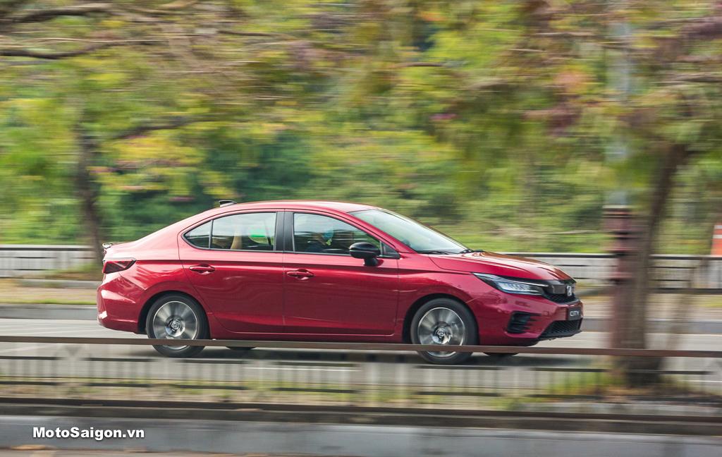 Hình ảnh xe City_ Mẫu xe bán chạy nhất của Honda trong tháng 5.2021