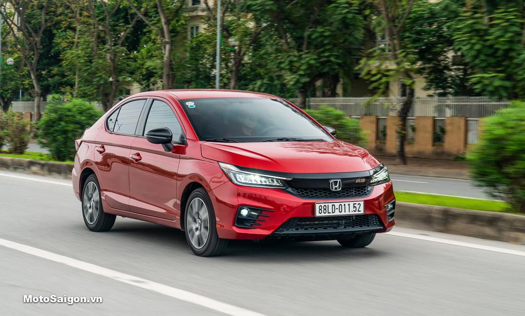 City là mẫu xe ô tô bán chạy nhất của Honda Việt Nam trong tháng 5