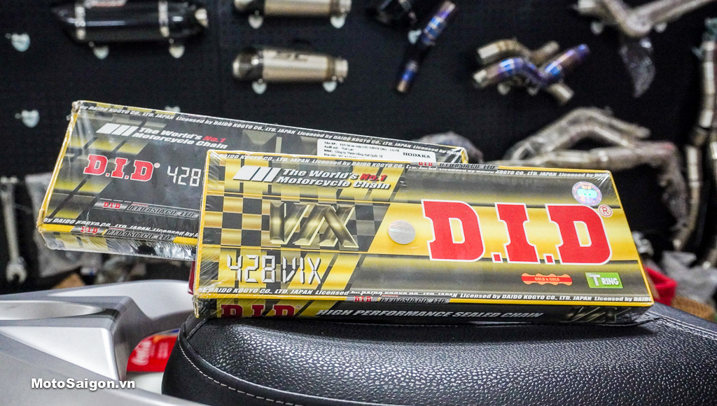 Sên DID 428 VIX Gold chính hãng - Sên vàng DID 428 chính hãng