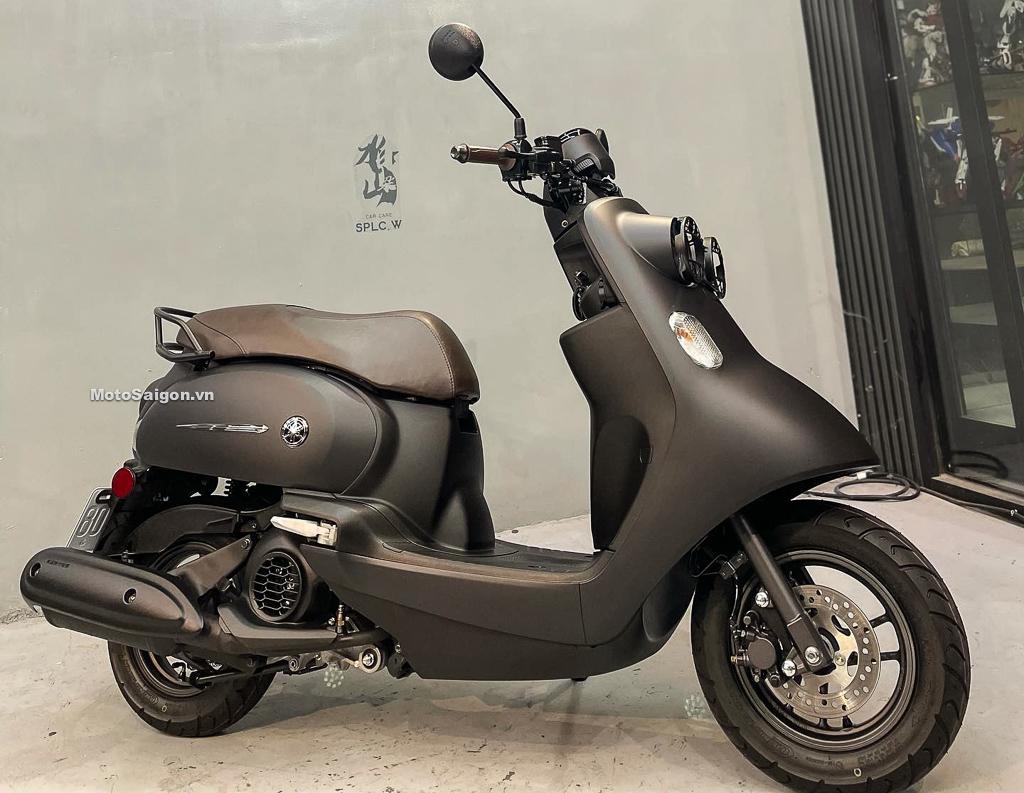 Yamaha Vinoora 125 M đầu tiên về Việt Nam