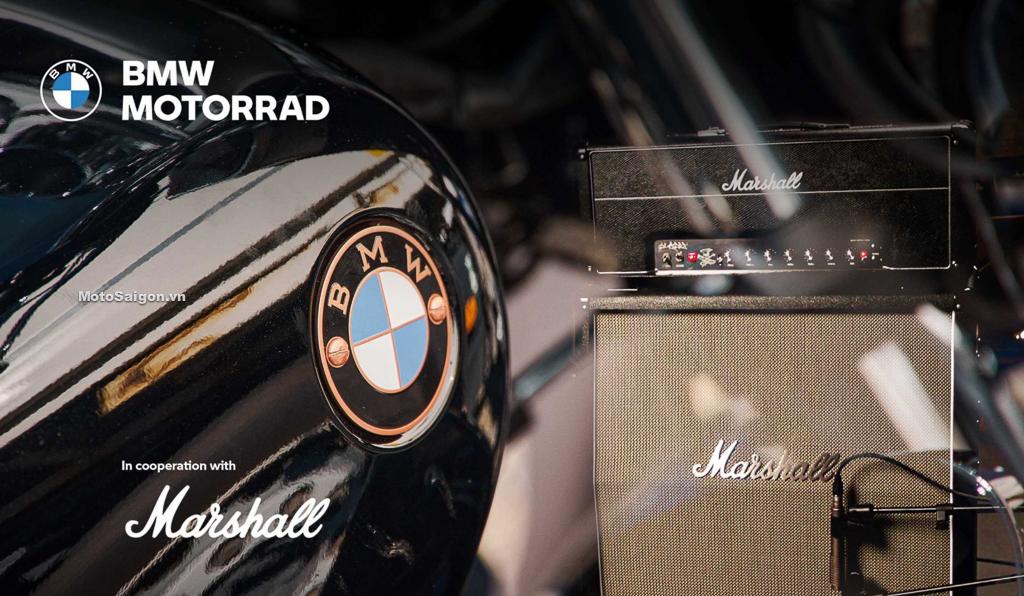 BMW Motorrad và thương hiệu loa Marshall trở thành đối tác chiến lược