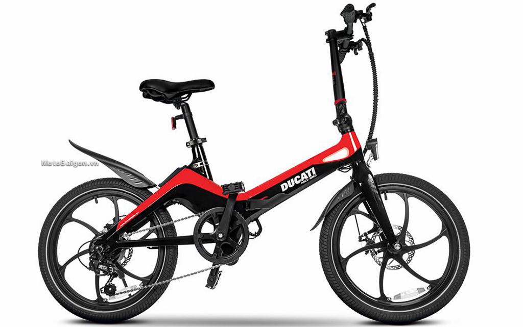 Ducati MG-20 xe đạp điện gấp được trang bị động cơ điện 250watt