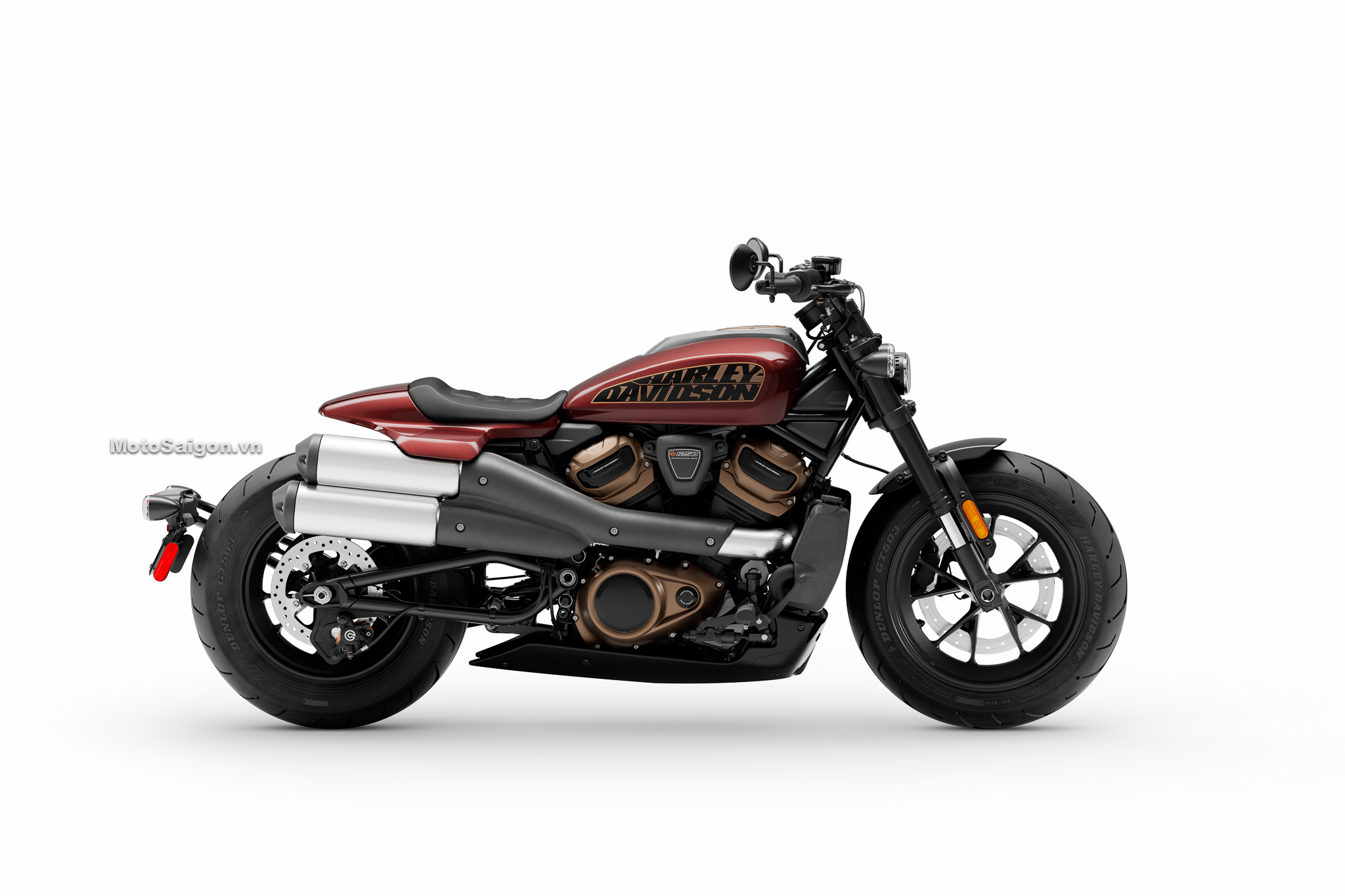 Harley-Davidson Sportster S màu đỏ