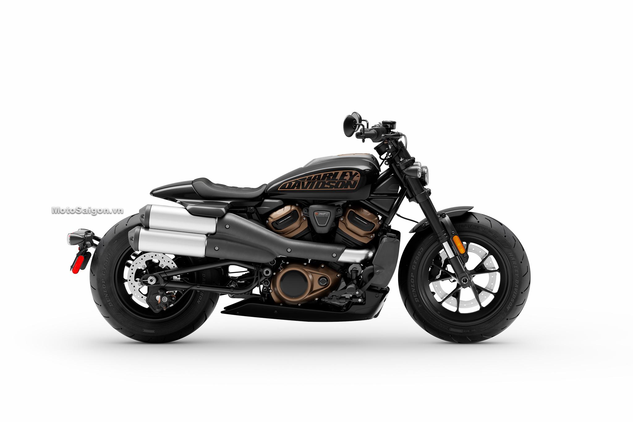 Harley-Davidson Sportster S màu đen