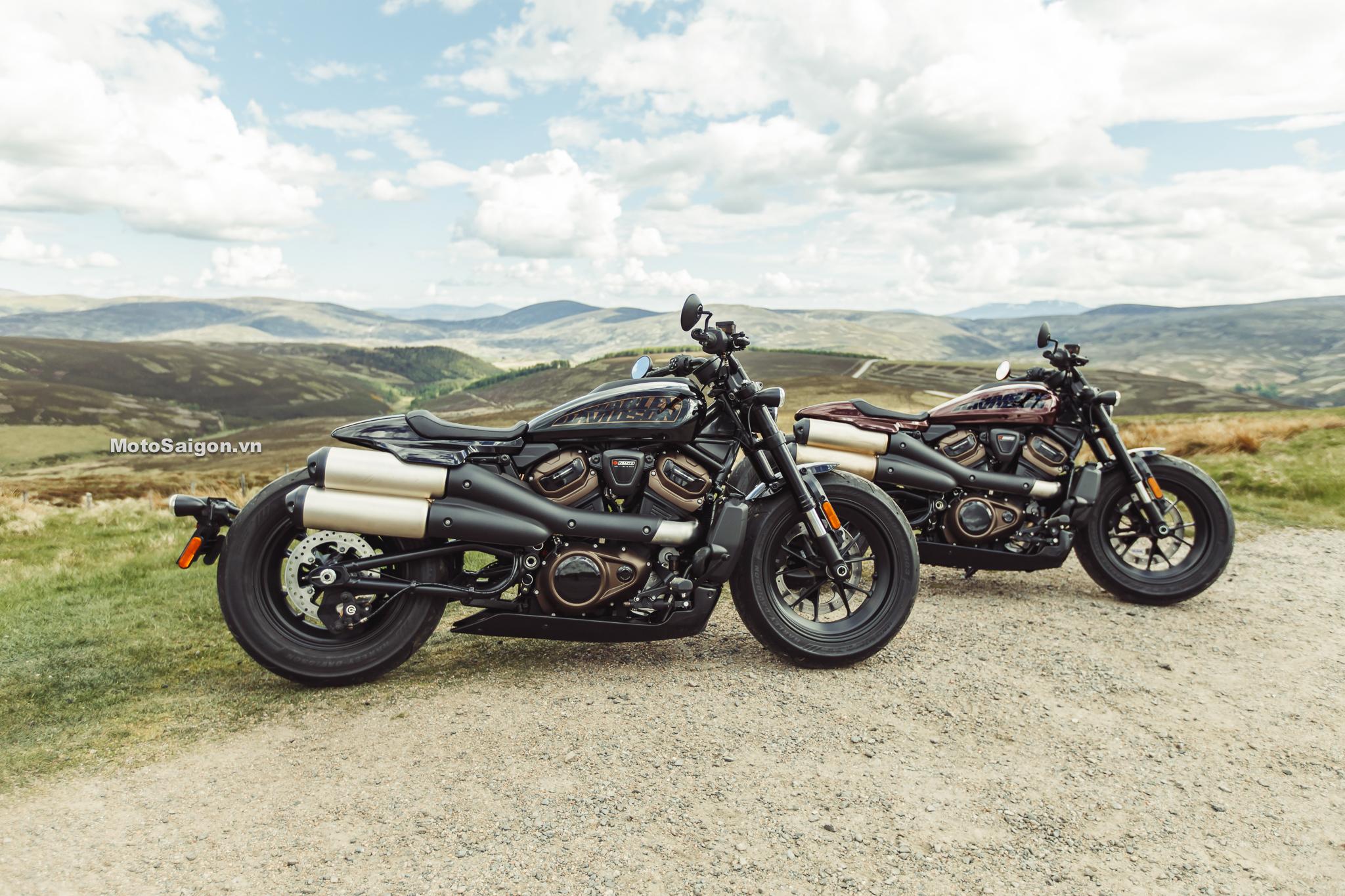 Harley-Davidson Sportster S 2021 chính thức ra mắt và công bố giá bán