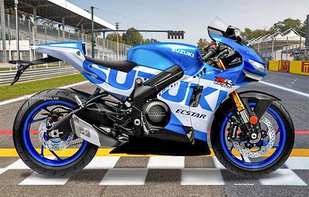 Suzuki GSX-R650 trang bị động cơ V-Twin đấu với Yamaha R7