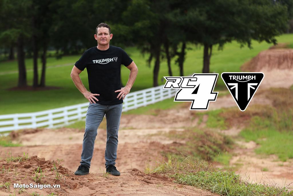 Triumph chính thức lấn sân sang phân khúc Motocross & Enduro
