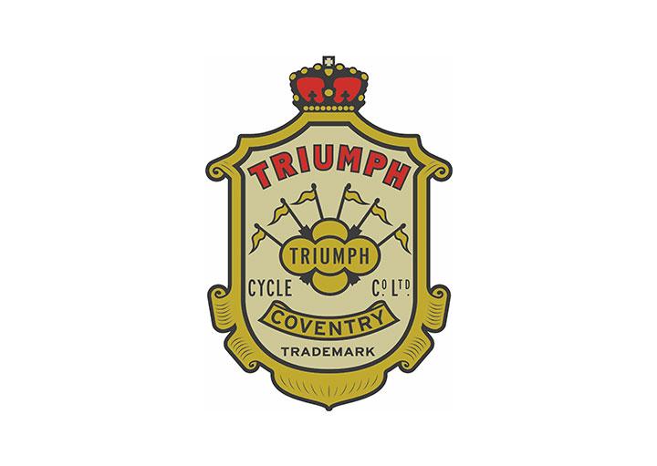 Lịch sử phát triển logo hãng xe Triumph. MotoSaigon.vn
