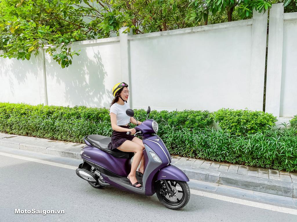 """Yamaha Grande """"Nữ hoàng"""" xe tay ga - tối ưu hoá chi phí cho người dùng"""