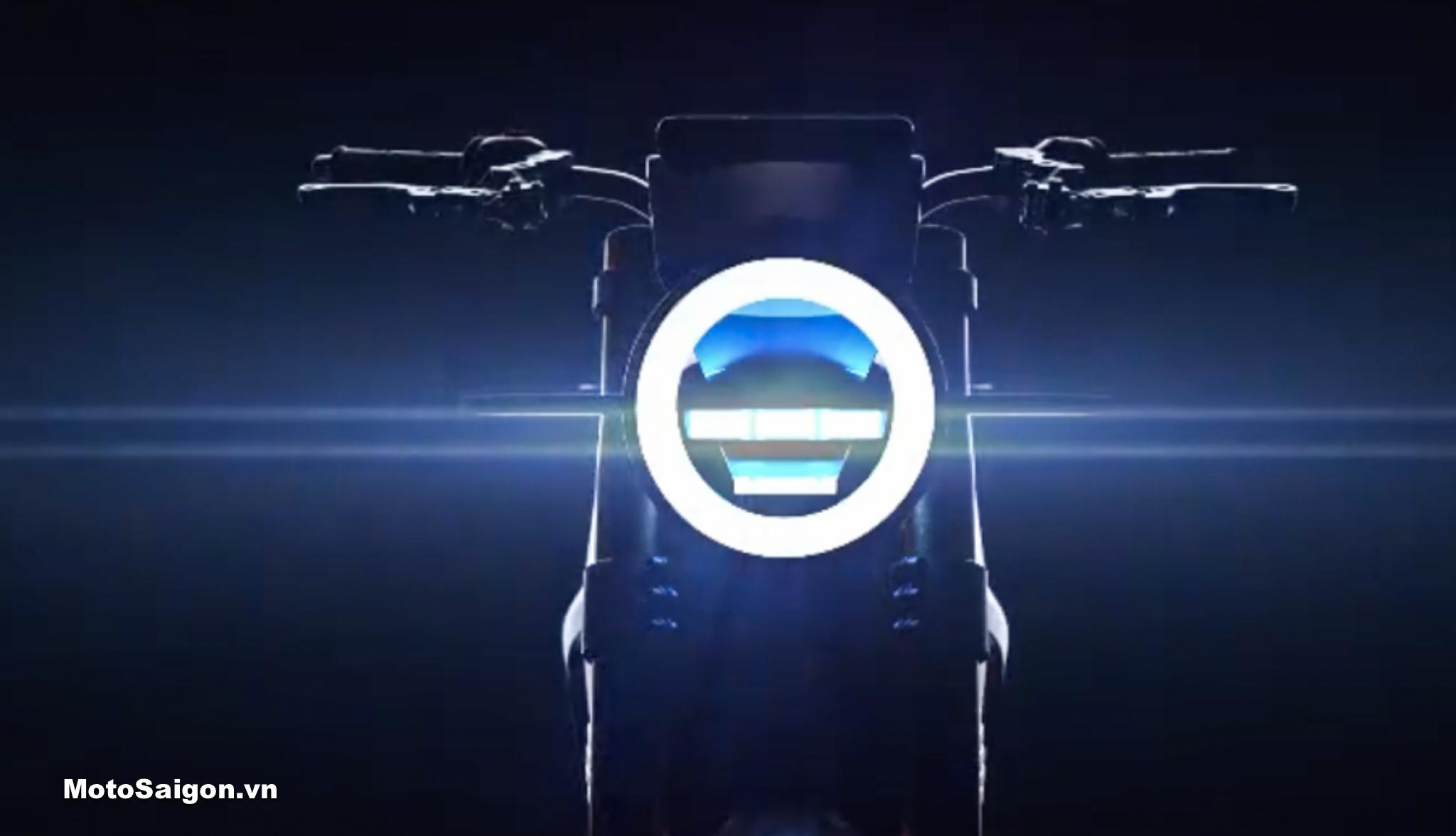 Ducati 860 mô tô điện tương lai của Monster lộ ảnh concept