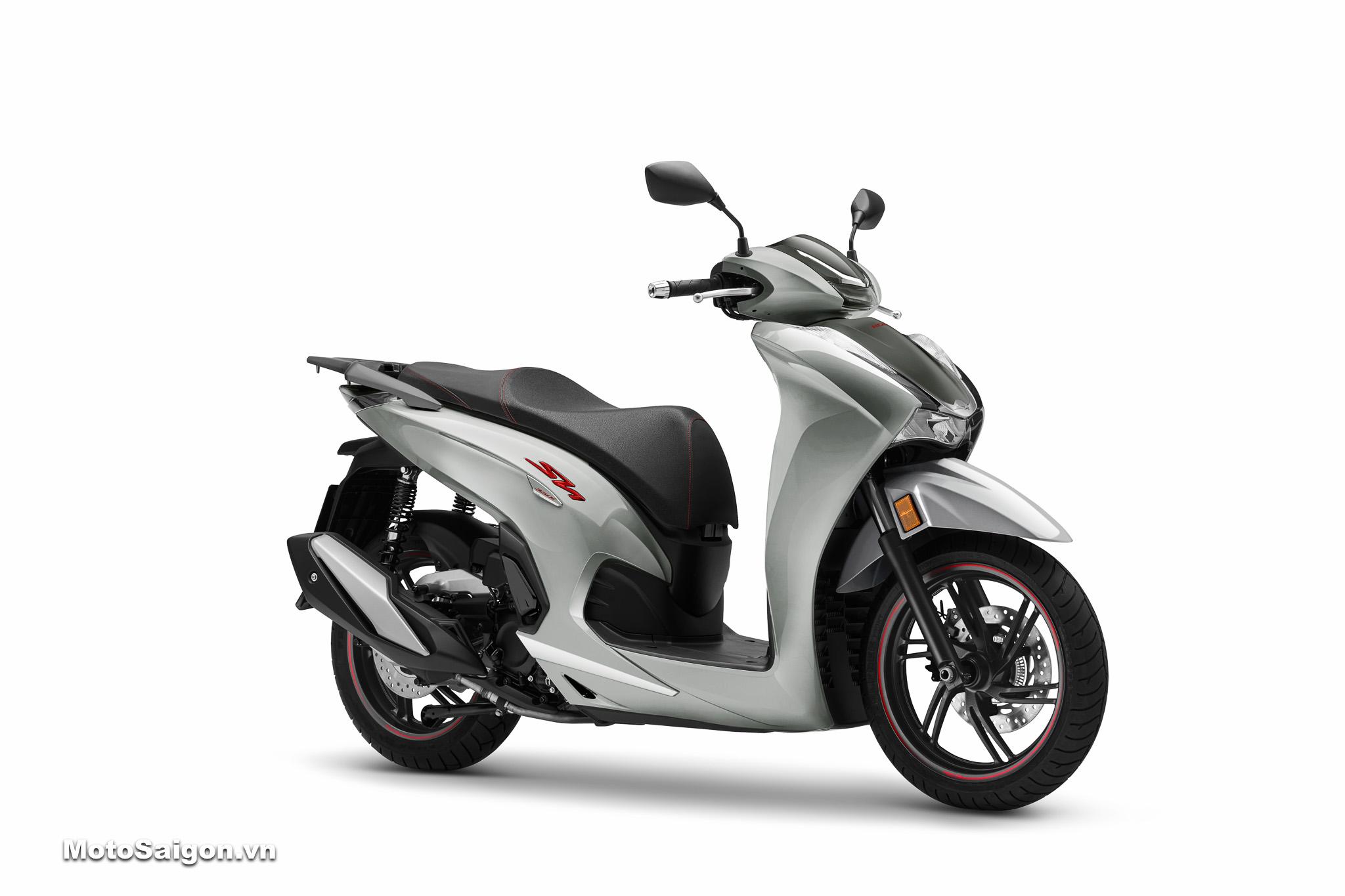 Giá xe Honda Sh350i màu xám đen 2021 chính hãng