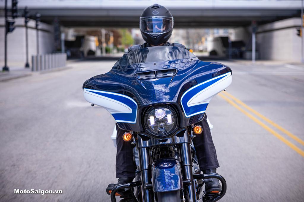 Harley-Davidson ra mắt Street Glide Special 2021 màu sơn Arctic Blast chỉ có 500 chiếc